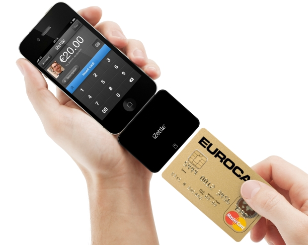 Credit card payment with iZettle